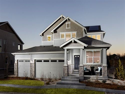 Gardens at Table Mountain Impressions 3500's by Ryland Homes in Denver Colorado