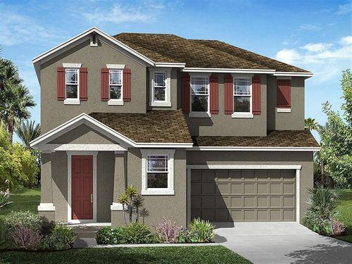Chandler Woods by Ryland Homes in Tampa-St. Petersburg Florida