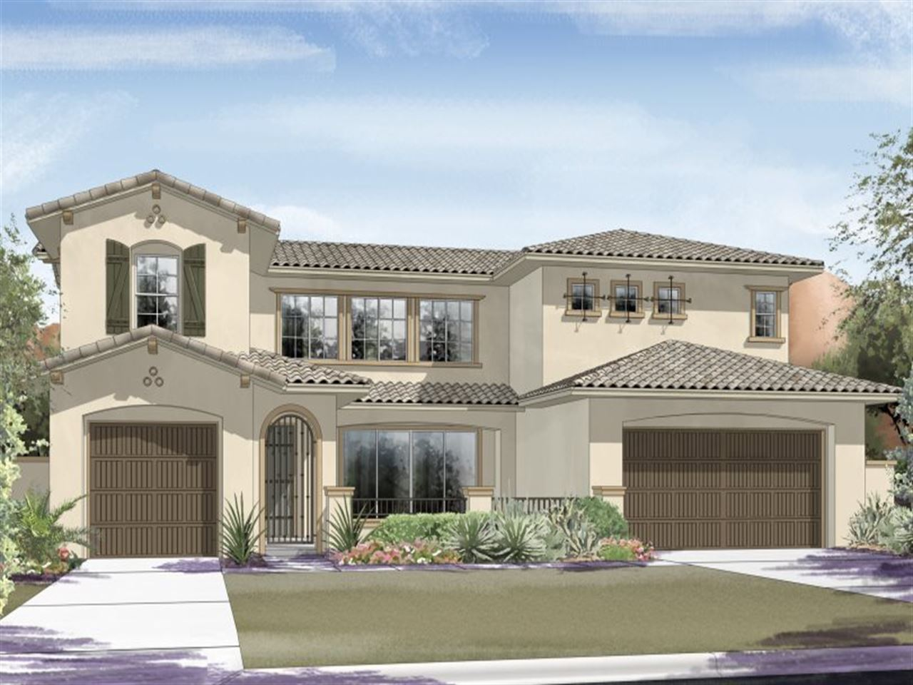 Las vegas new homes new construction home builders for New modern homes las vegas