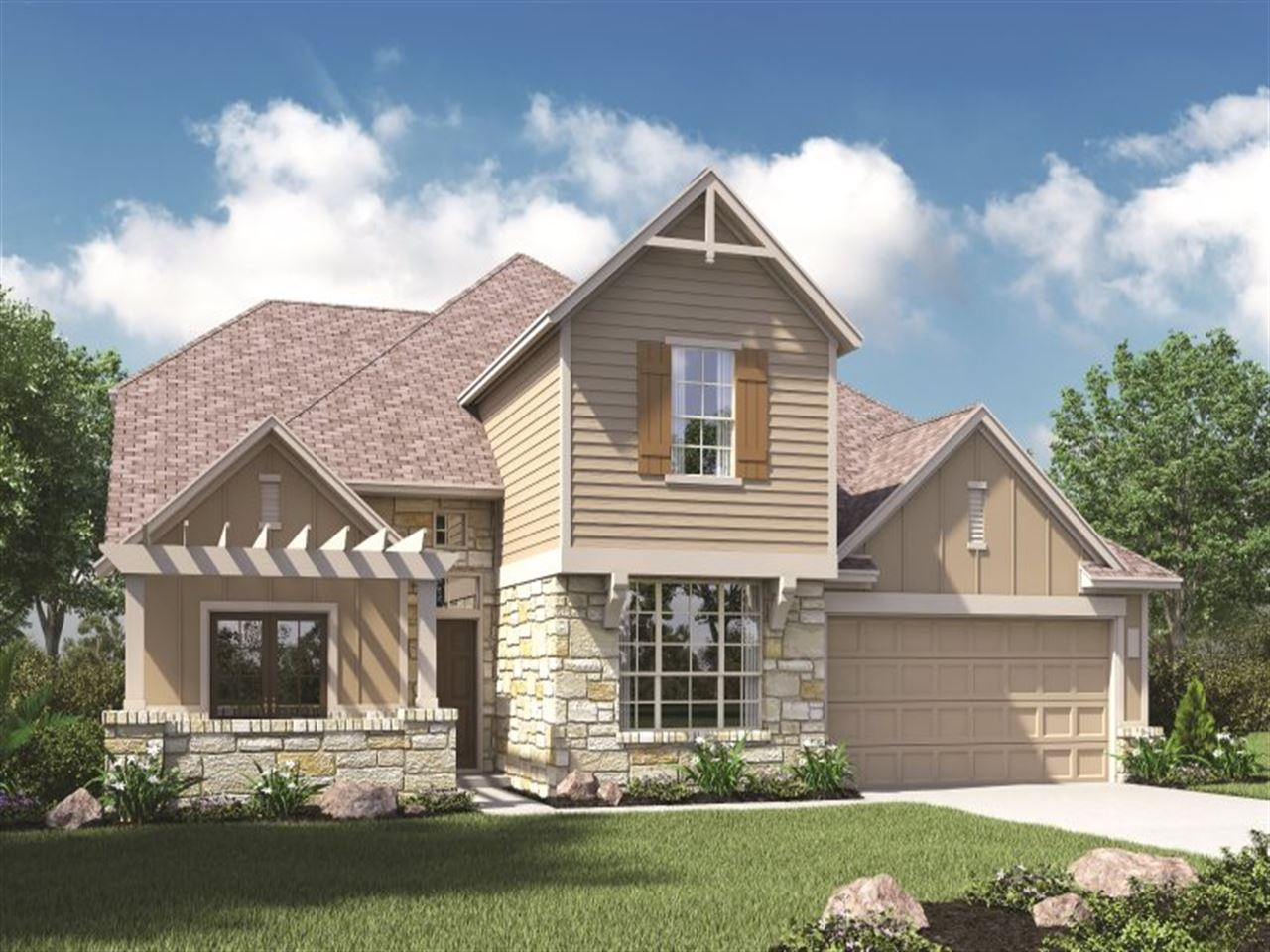 Ryland Homes Executive At Crossvine Columbus Crossvine 1145652