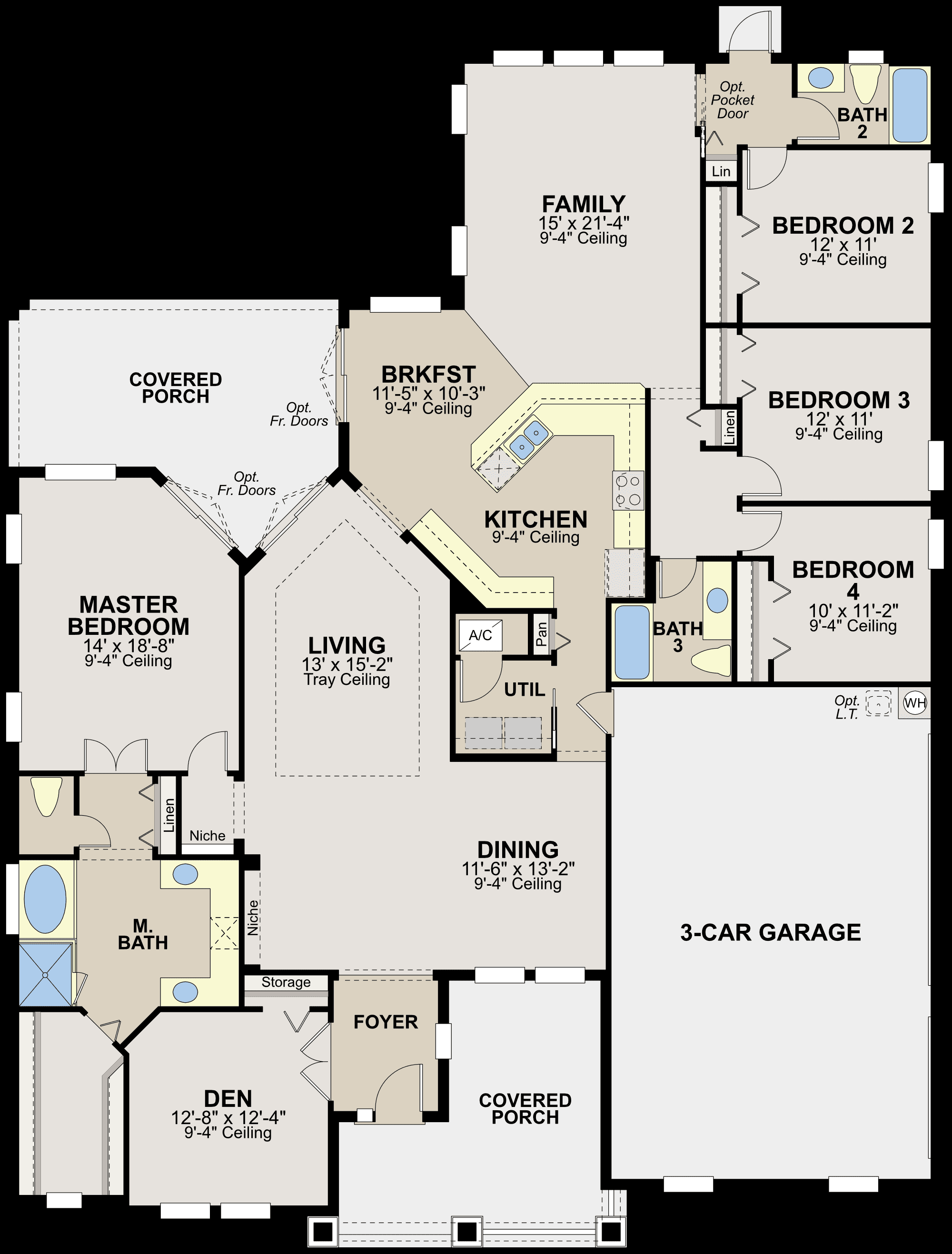 Ryland homes stockbridge floor plan home design and style for Ryland home plans