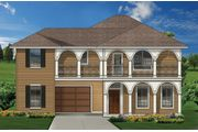 Lions Gate Homes -The Oxford - Savannah: Aubrey, TX - Savannah