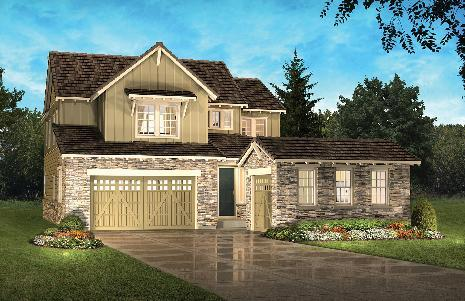 Highlands Ranch: BackCountry - Shadow Walk Collection by Shea Homes - Family in Denver Colorado