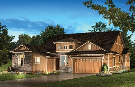 Highlands Ranch: BackCountry - Whispering Wind Collection - Luxury Villas by Shea Homes - Family