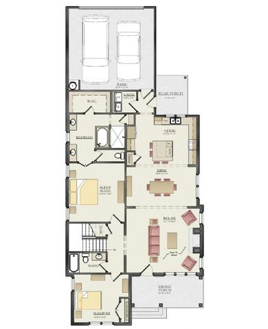 The Manchester 7C Floor Plan 1