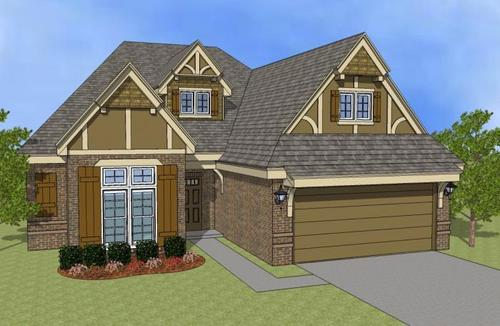 Oxford Court by Simmons Homes Inc. in Tulsa Oklahoma