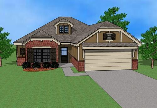 house for sale in Maple Glen by Simmons Homes Inc.