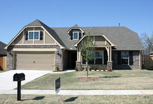 Glenn Abbey by Simmons Homes Inc. in Tulsa Oklahoma