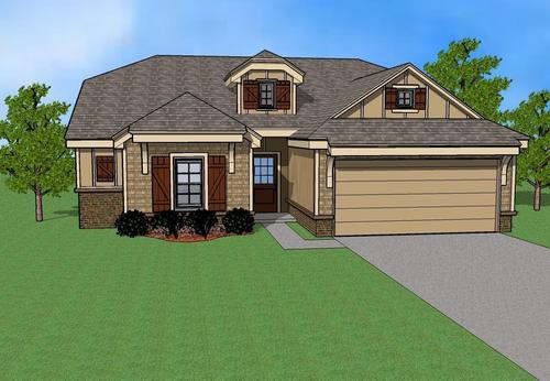 Oak Ridge Park by Simmons Homes Inc. in Tulsa Oklahoma