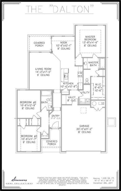 Dalton Floor Plan