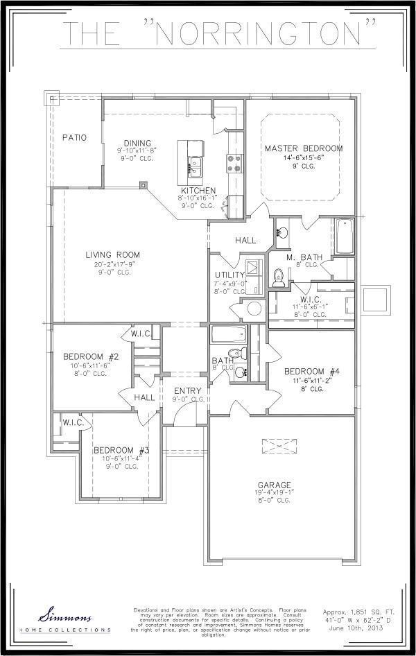 Norrington Floor Plan