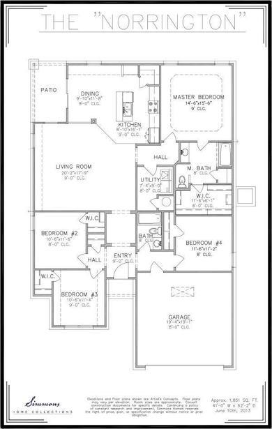 Norrington Floor Plan