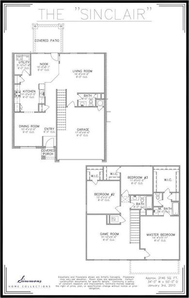 Sinclair Floor Plan
