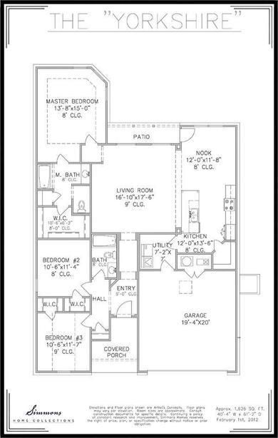 Yorkshire Floor Plan