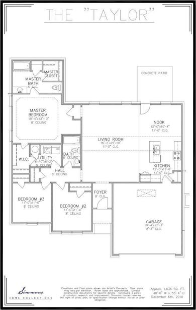 Taylor Floor Plan