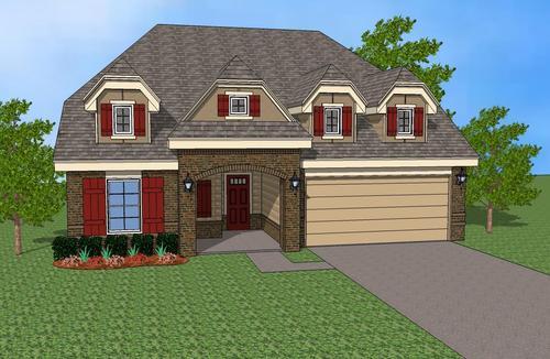 Glenn Abbey by Simmons Homes Inc. in Tulsa Oklahoma