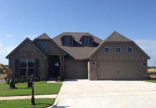 The Villas of Spring Creek by Simmons Homes Inc. in Tulsa Oklahoma