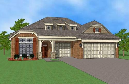 house for sale in Stone Lake by Simmons Homes Inc.