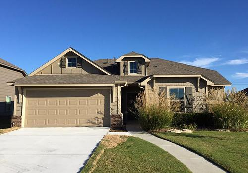 Oak Ridge Park by Simmons Homes Inc. in Tulsa Oklahoma