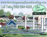 homes in The Cottages at Mill Creek Landing by Southern Homebuilders