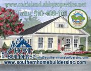 homes in Oak Island by Southern Homebuilders