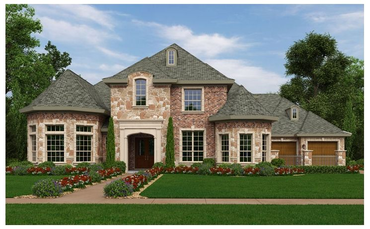 Exeter - Shady Oaks: Southlake, TX - Standard Pacific Homes