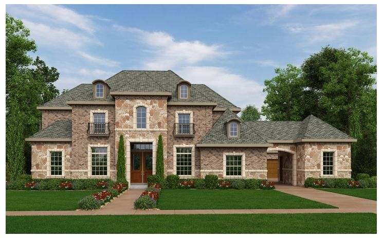Donegal - Laviana at Lantana: Lantana, TX - Standard Pacific Homes