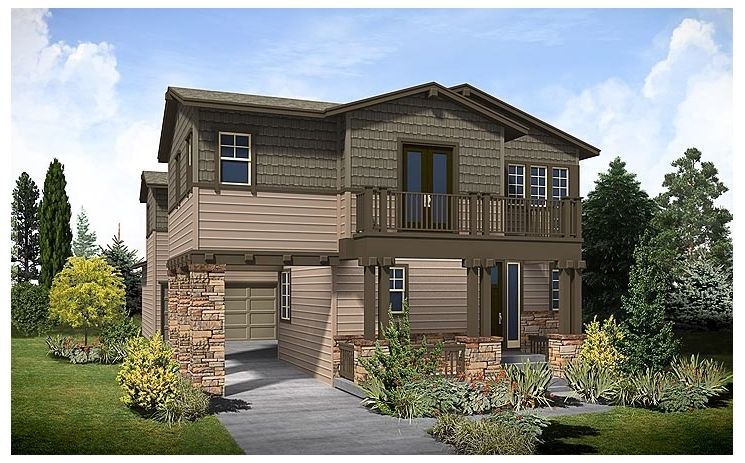 Poppy [3843] - Conservatory Green: Denver, CO - Standard Pacific Homes