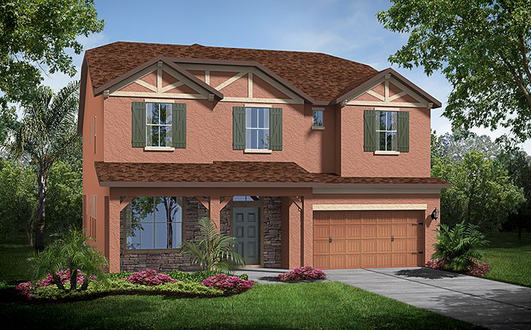 Bedford - Bellafield At Seven Oaks: Wesley Chapel, FL - Standard Pacific Homes