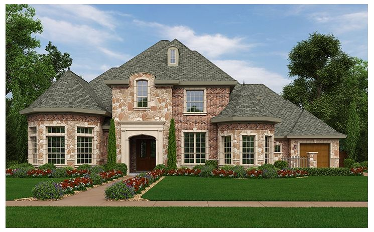Exeter - Laviana at Lantana: Lantana, TX - Standard Pacific Homes