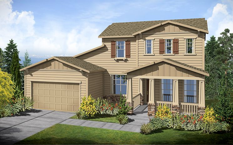 5038 Plan - Candelas: Arvada, CO - Standard Pacific Homes