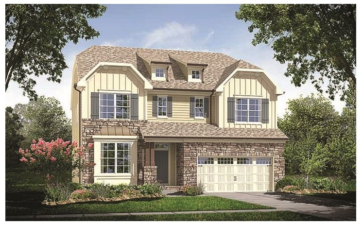 Pemberton - Austin's Creek Legacy Collection: Charlotte, NC - Standard Pacific Homes