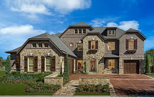 Carlisle at Lantana by Standard Pacific Homes in Fort Worth Texas