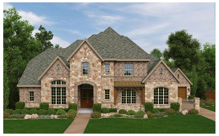 Crenshaw - Laviana at Lantana: Lantana, TX - Standard Pacific Homes
