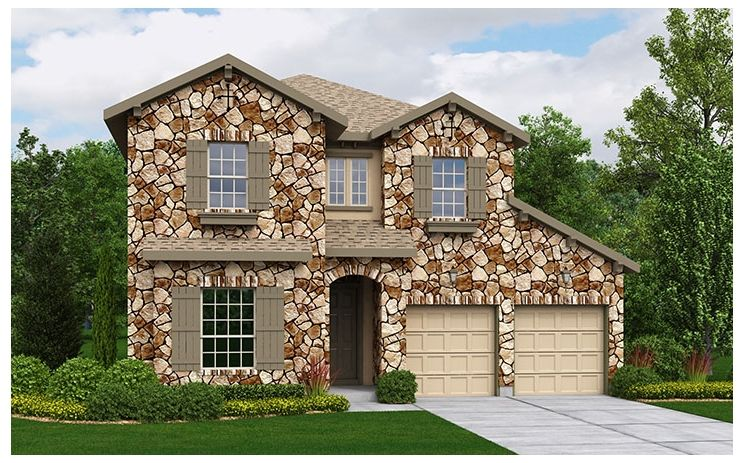 Vazzano - The Preserve At Four Points - 50' Homesites: Austin, TX - Standard Pacific Homes