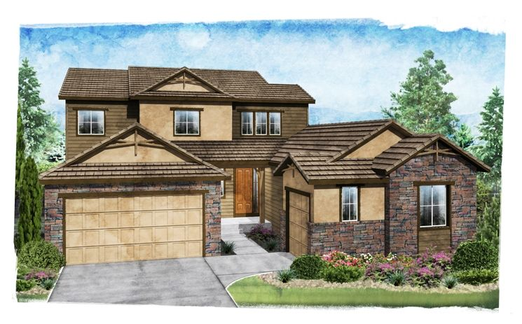 Landmark - Anthem Highlands - Lookout Village: Broomfield, CO - Standard Pacific Homes