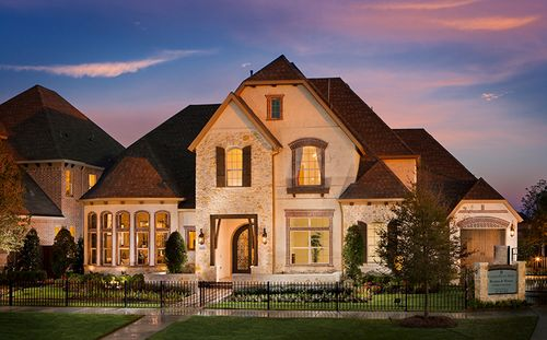 Weston At Phillips Creek Ranch - 90' Homesites by Standard Pacific Homes in Dallas Texas