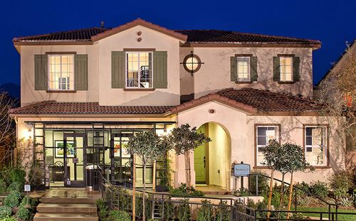 Cypress At Rosena Ranch by Standard Pacific Homes in Riverside-San Bernardino California