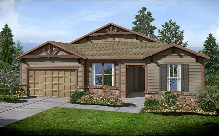 5037 Plan - Candelas: Arvada, CO - Standard Pacific Homes