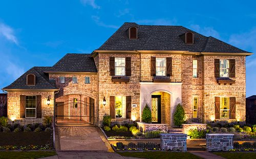 The Bluffs at Heritage by Standard Pacific Homes in Fort Worth Texas