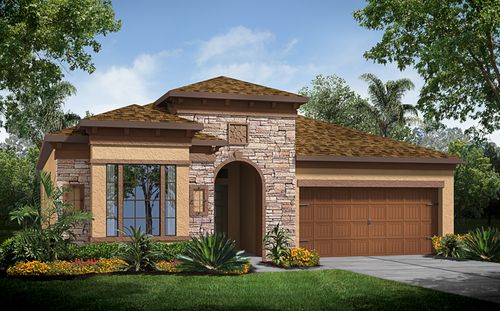 Country Walk: Glenbrook At Watergrass by Standard Pacific Homes in Tampa-St. Petersburg Florida