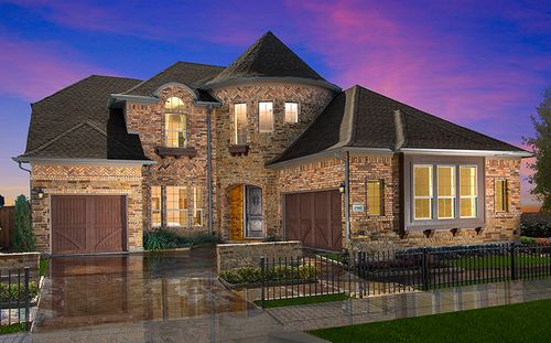Riverton At Phillips Creek Ranch - 66' Homesites by Standard Pacific Homes in Fort Worth Texas