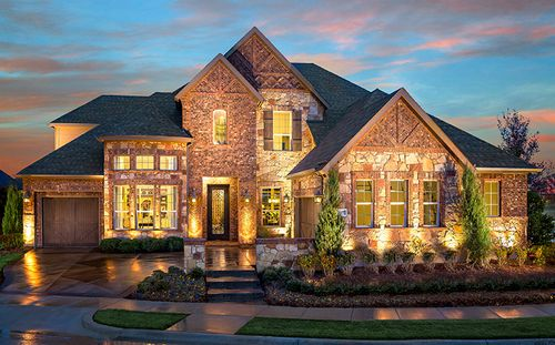 Vicenza At Stone Hollow by Standard Pacific Homes in Dallas Texas