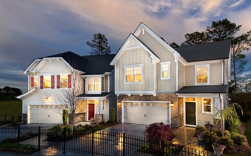 Birkshires At Town Hall Commons by Standard Pacific Homes in Raleigh-Durham-Chapel Hill North Carolina