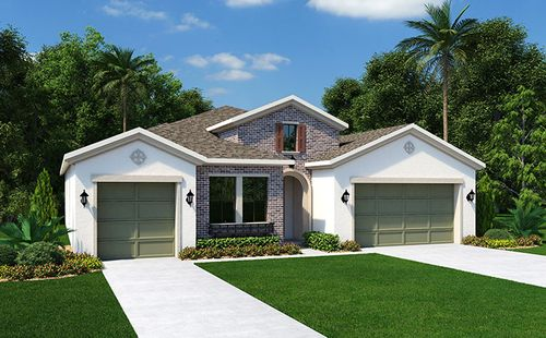 Trinity Lakes by Standard Pacific Homes in Tampa-St. Petersburg Florida