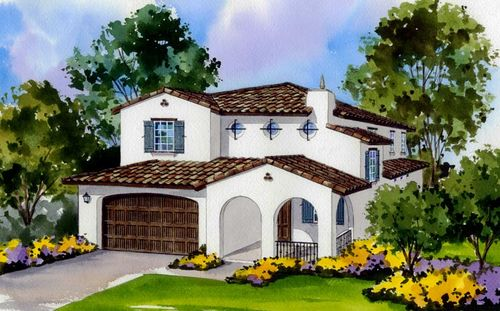 Hanover Village At The Park by Standard Pacific Homes in Los Angeles California