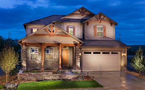 Heirloom  - Whistlehill Collection by Standard Pacific Homes in Denver Colorado