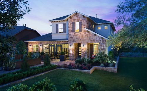 Cornerstone At Circle C Ranch by Standard Pacific Homes in Austin Texas