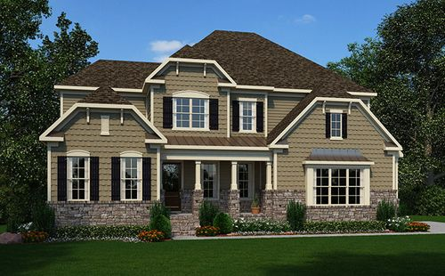 The Estates At Chapel Cove by Standard Pacific Homes in Greenville-Spartanburg South Carolina