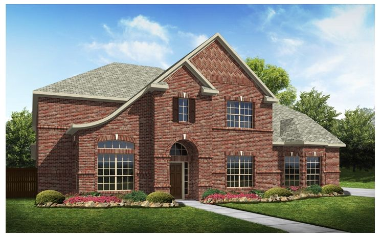 Stratton - Stoney Creek: Sunnyvale, TX - Standard Pacific Homes